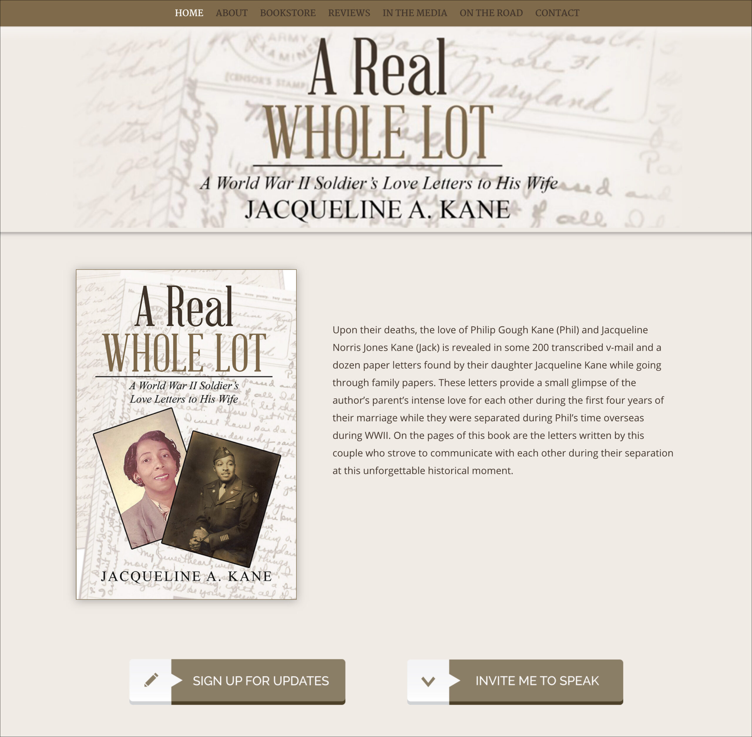 A Real Whole Lot Website