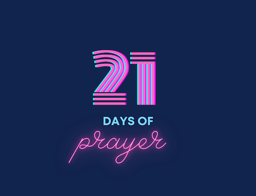 21 Days of Prayer - Day 19