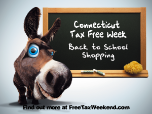 Connecticut Tax Free Week 2016