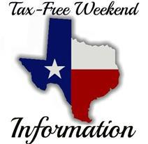 Texas Tax Free Weekend 2019 for Emergency Preparation