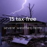 New tax free weekend aimed at emergency supplies