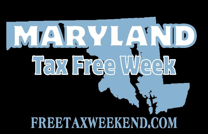 Maryland Tax Free Week