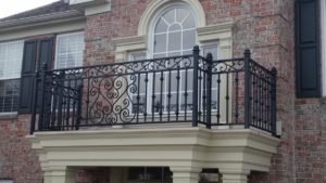 B3 Large Stock Custom Design Railing