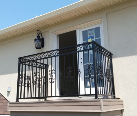 B5 Custom Iron Railing