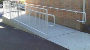 EC1 Commercial A.D.A Guard Rail with Hand Rail