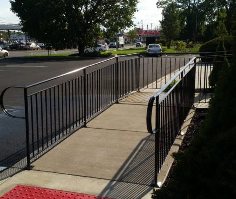 EC2 Commercial A.D.A Handicap Ramp With Open Space