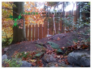 Fence Green Builder Bamboo MD Green Builder Severna Park Custom Fence