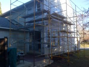 Custom porch renovation, Bowie Carpentry, Severna Park Custom builder