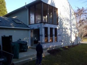 Bowie Porch Renovation, Carpentry MD, Custom Carpentry Severna Park