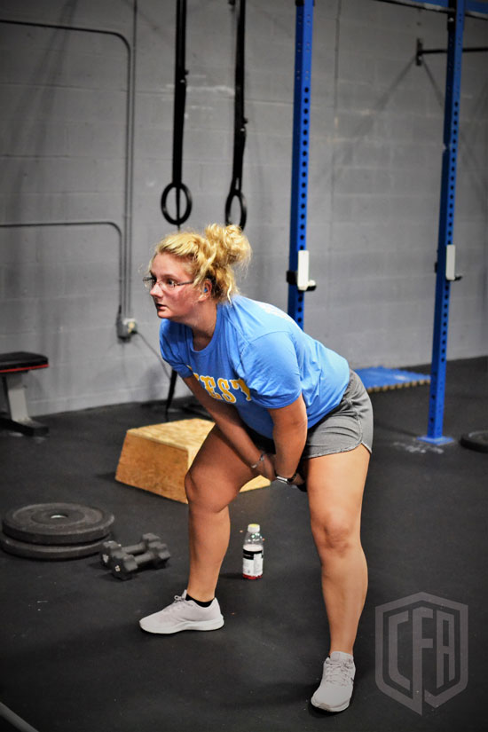 WOD: Tuesday 11/27/18