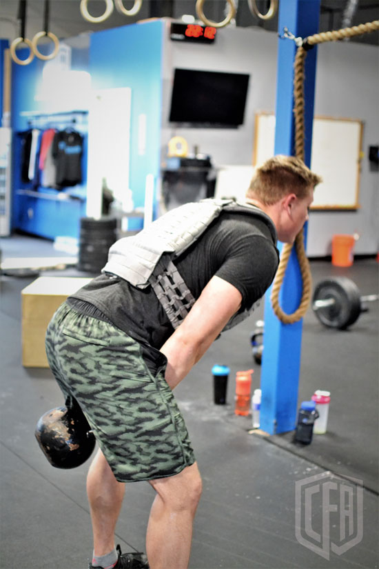 WOD: Tuesday 1/29/19