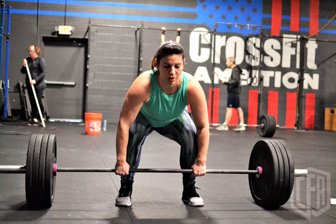 WOD: Tuesday 7/30/19