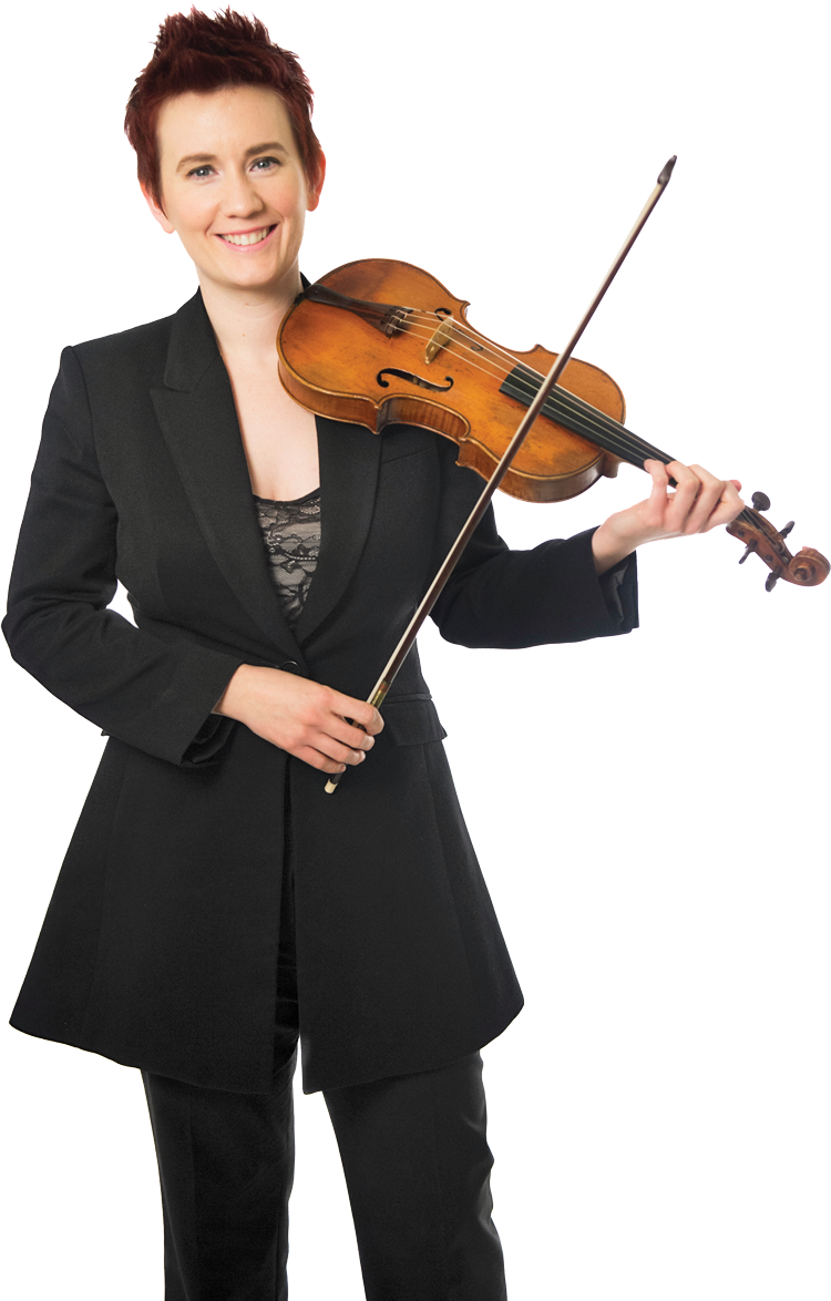 Aisslinn Nosky, violin