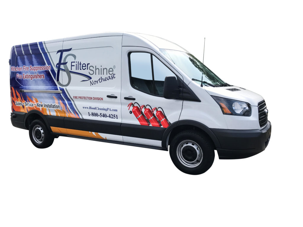 Fire Suppression and Fire Extinguisher Van