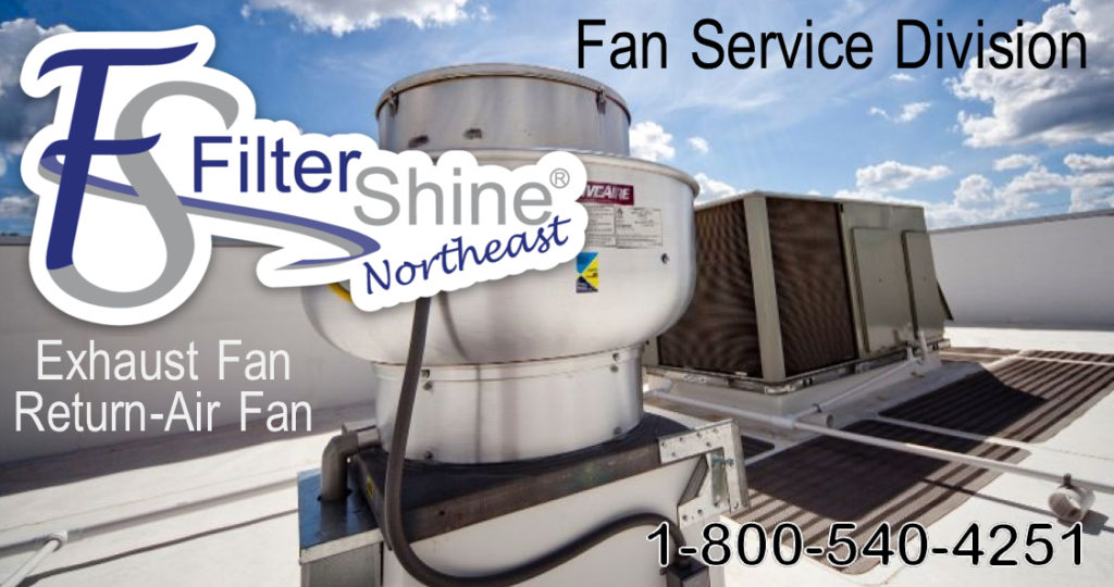 Exhaust and make up air fan services