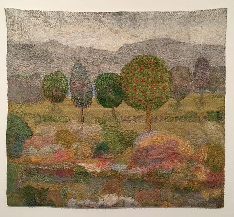 """The Garden"" by Audrey Walker 2012."