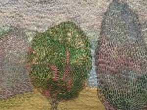 "Detail ""The Garden"" by Audrey Walker 2012."