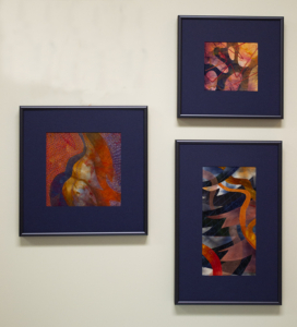 Feelin' Good Triptych by Christina Fairley Erickson