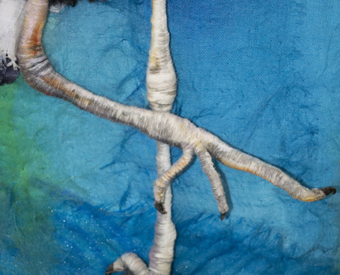 Focused Intent - detail Legs