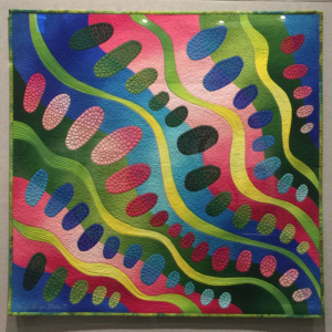 """Spirogyra 4"" by Caryl Bryer Fallert-Gentry"