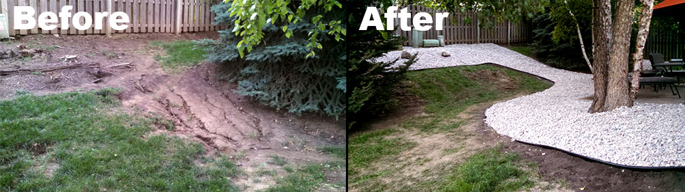 Landscaping Design Omaha: Before & After by Nebraska Yard Care