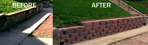 Retaining Wall Repair in Omaha