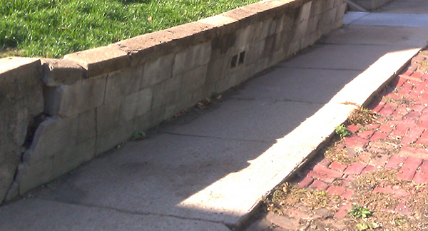 retaining wall repair Omaha