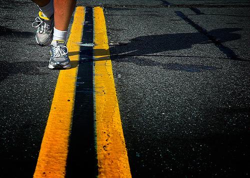 analyzing runners shin pain
