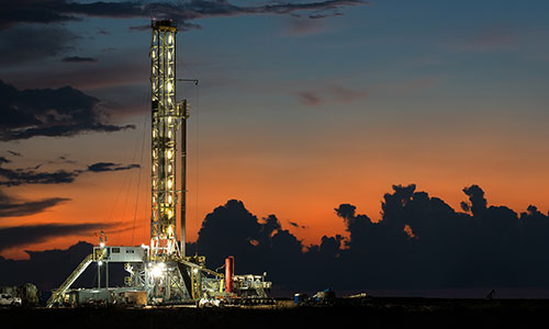Oil and gas exploration company.