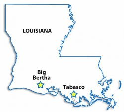Gulf Coast Oil and Gas fields.
