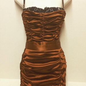 Dolce and Gabbana bustier two piece designer dress
