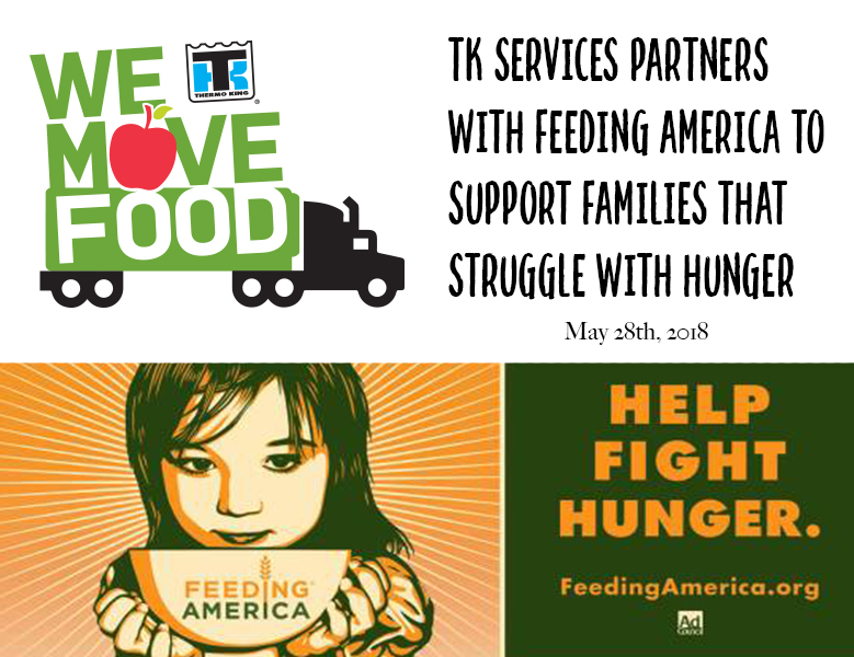 TK Services Joins forces with Americas top hunger relief organization