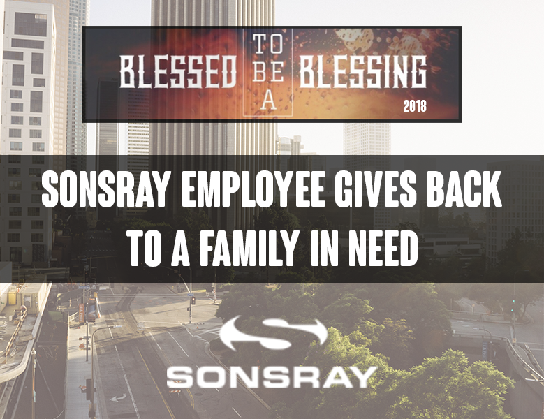 Sonsray employee gives back to L.A. community.