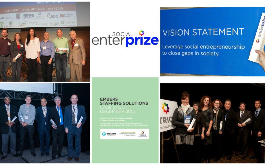 Showcasing Canada's Amazing Social Entrepreneurs: Applications Open for the $100,000 Social EnterPrize