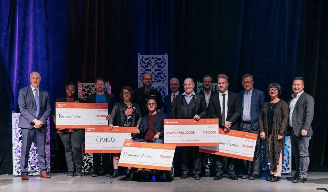 A Night of Social Enterprise: Calgary Event Awards $200,000 to National and YYC Leaders