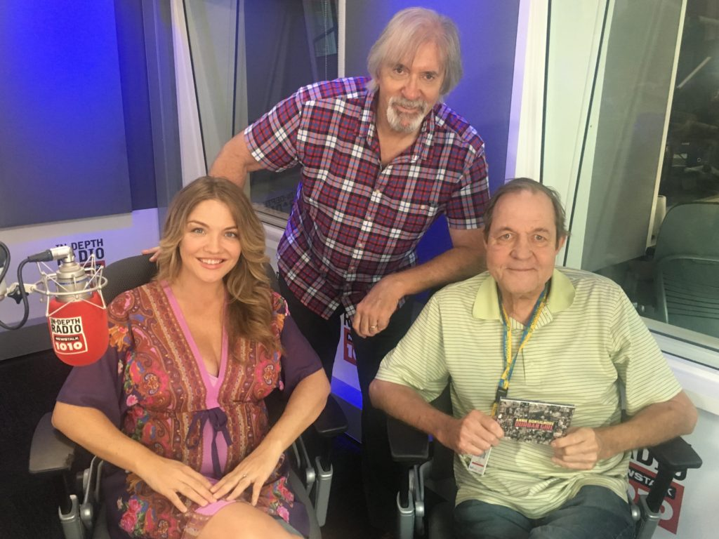 Annie with Bill King and Ted Woloshyn at CFRB 1010