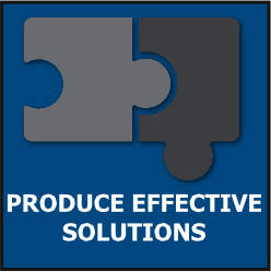 PRODUCE EFFECTIVE SOLUTIONS