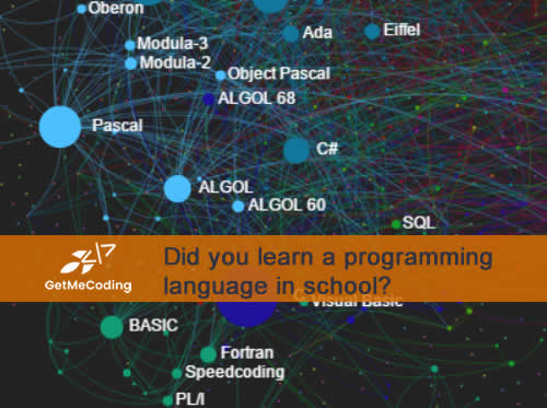 BLOG - What programming languages did you learn in school?