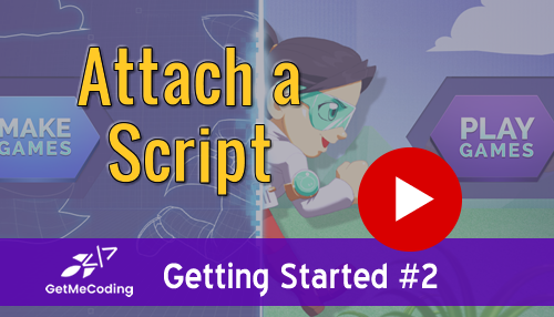 GetMeCoding - Gamefroot Attaching a Script