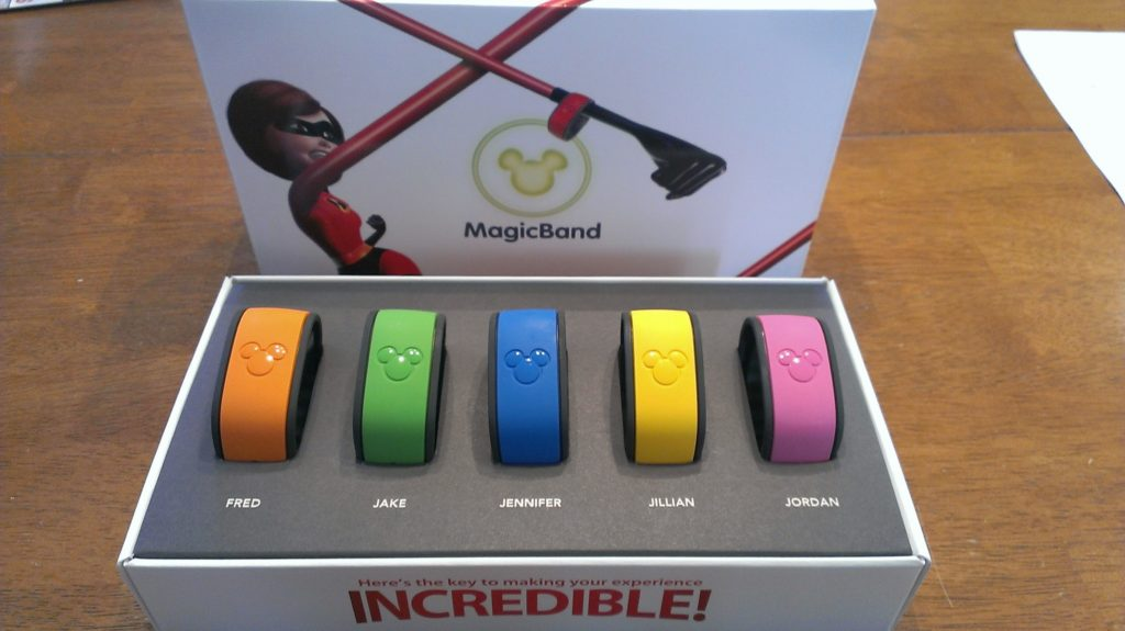 Magic Bands and the Internet of Things