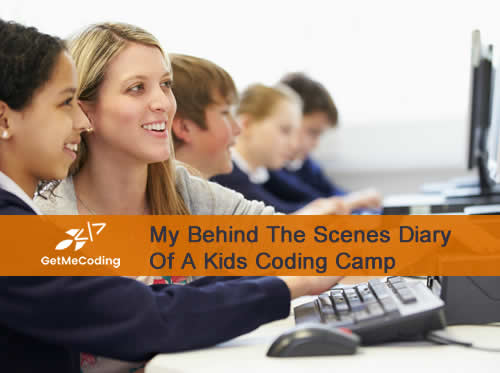 Get Me Coding.com Behind the Scenes Diary