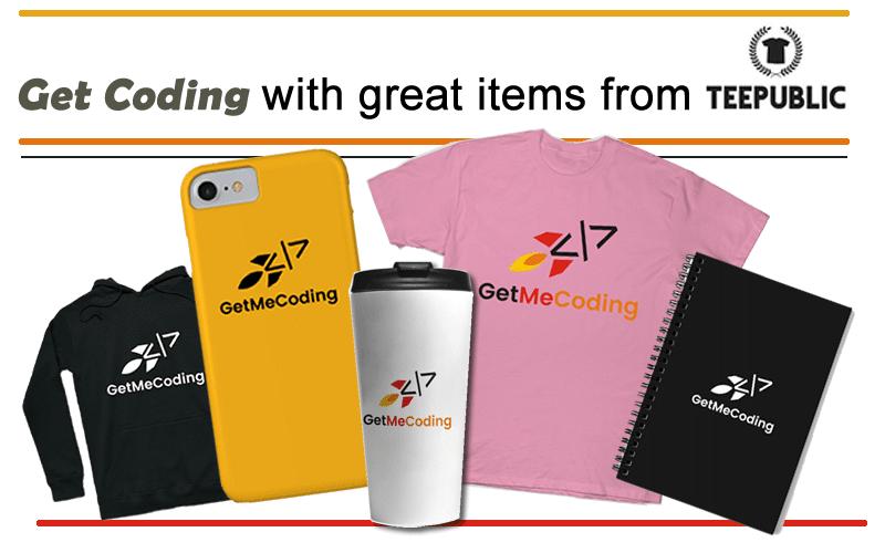 GetMeCoding Merchandise