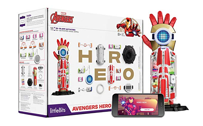 STEM Marvel Little Bits Iron Man GetMeCoding.com