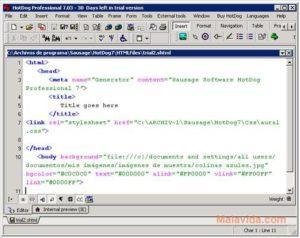 GetMeCoding HotDog Pro HTML Editor