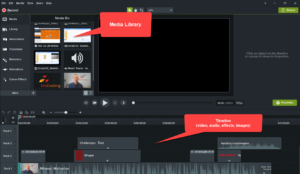 TechSmith Camtasia Video Editor with Project