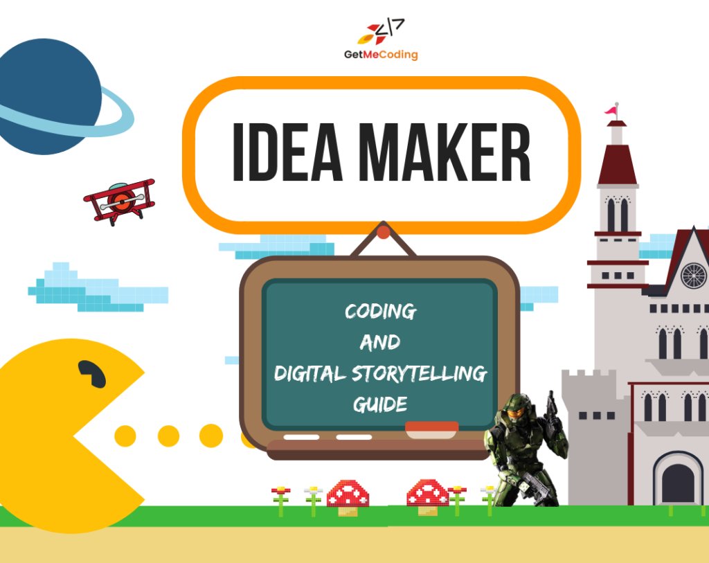 Coding and Digital Storytelling Idea Maker
