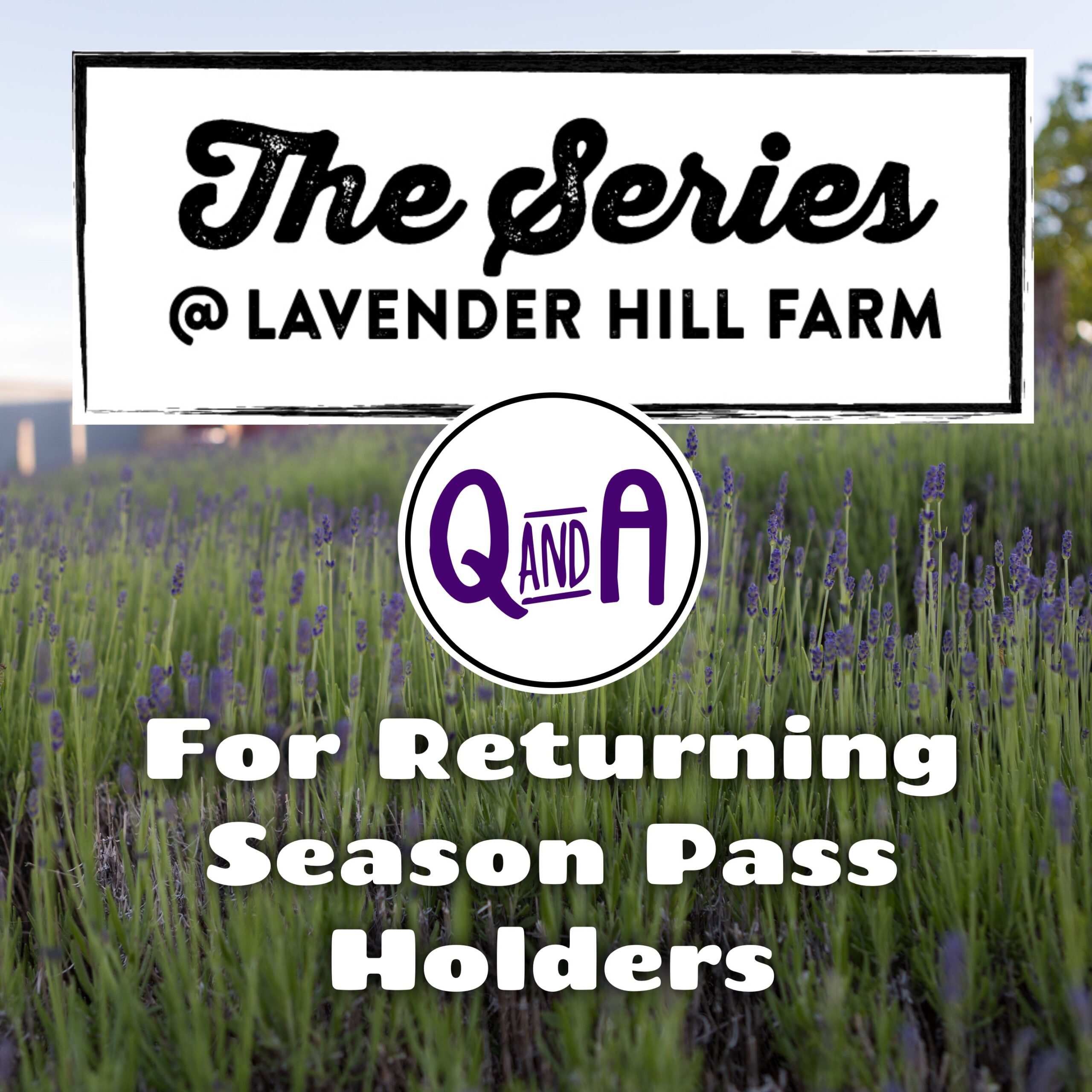 The Series Q&A for Returning Season Pass Holders