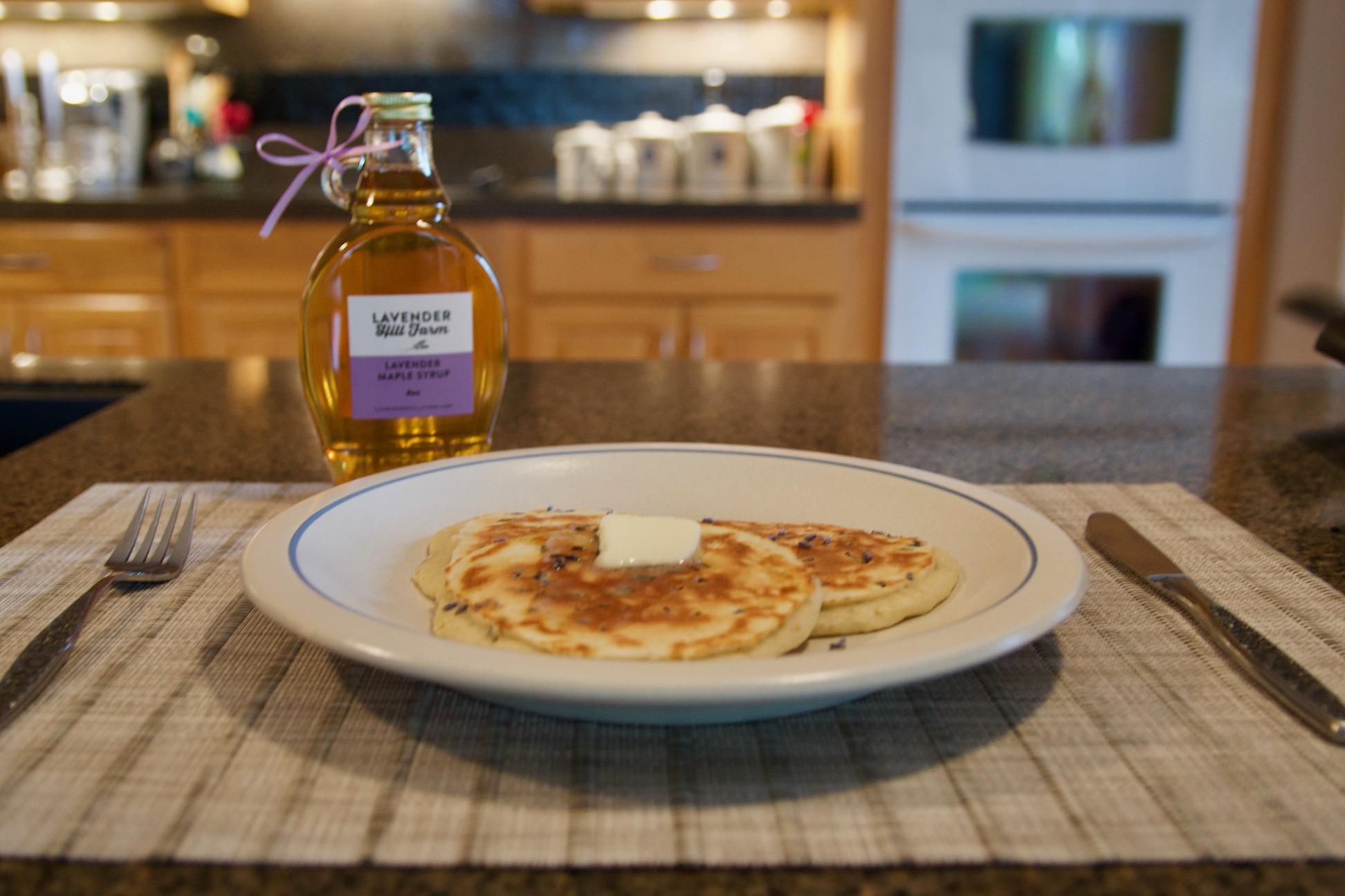 Lavender Pancakes