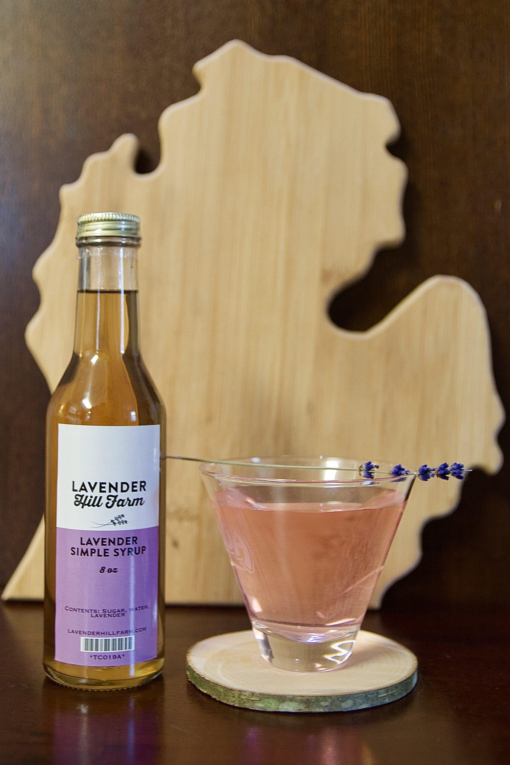 Lavender Quaran-tini