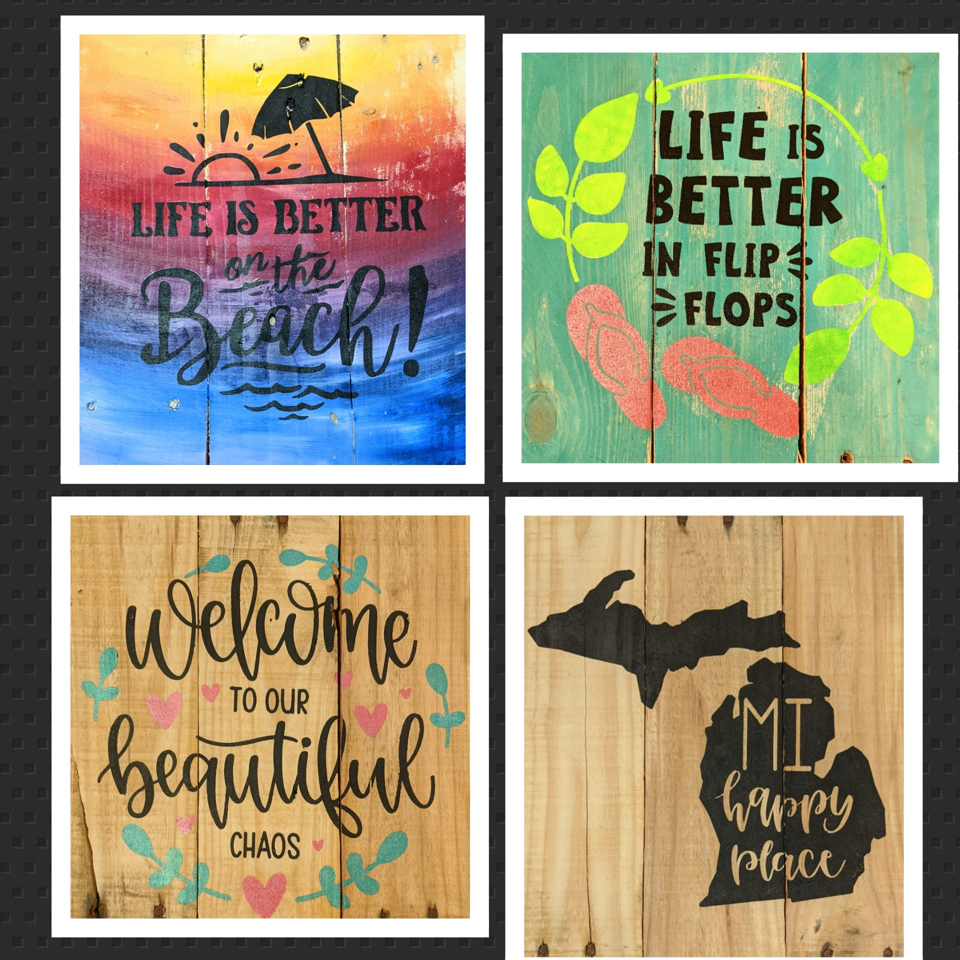 Sip & Soothe Your Soul – Mini Pallet Painting Class